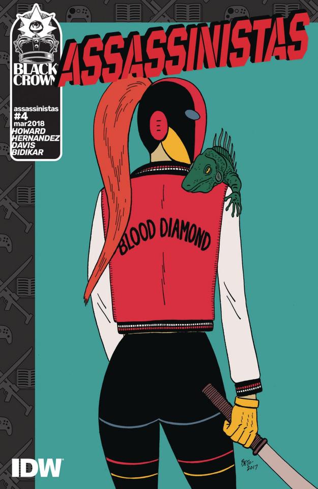 Assassinistas #4 (Hernandez Cover)