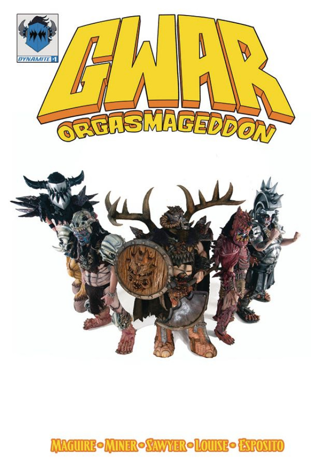 GWAR: Orgasmageddon #1 (Photo Cover)