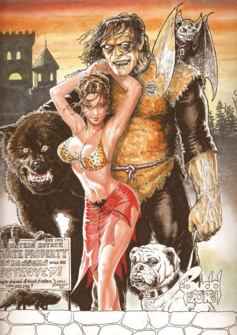 Cavewoman: Monster Dreams #1 (Root Cover)