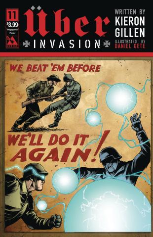 Über: Invasion #11 (Propaganda Poster Cover)