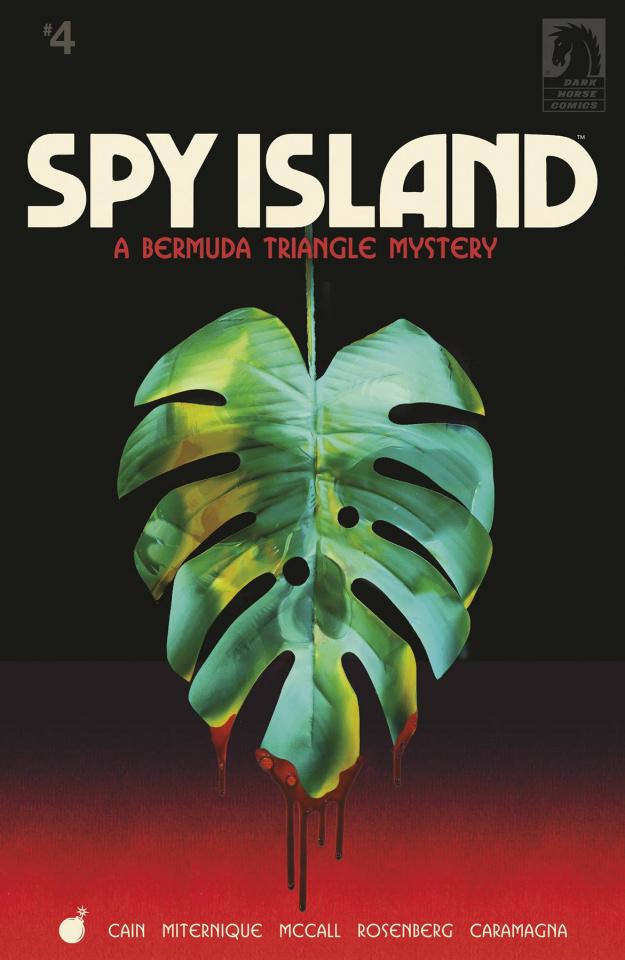 Spy Island #4 (Miternique Cover)
