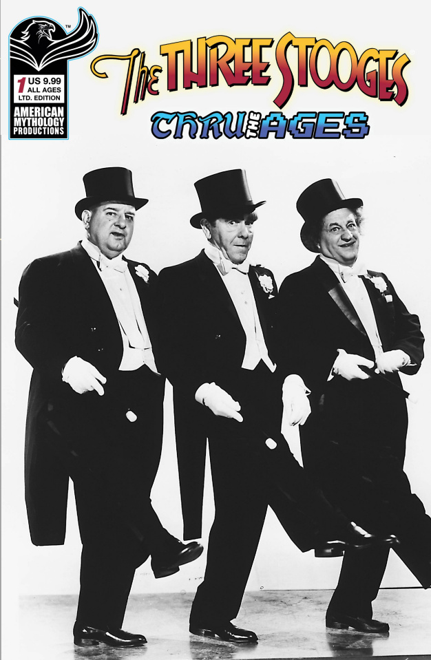 The Three Stooges: Through the Ages #1 (B&W Photo Cover)