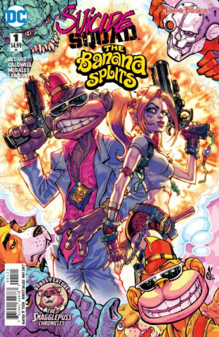 Suicide Squad / Banana Splits Special #1 (Variant Cover)