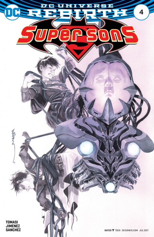 Super Sons #4 (Variant Cover)