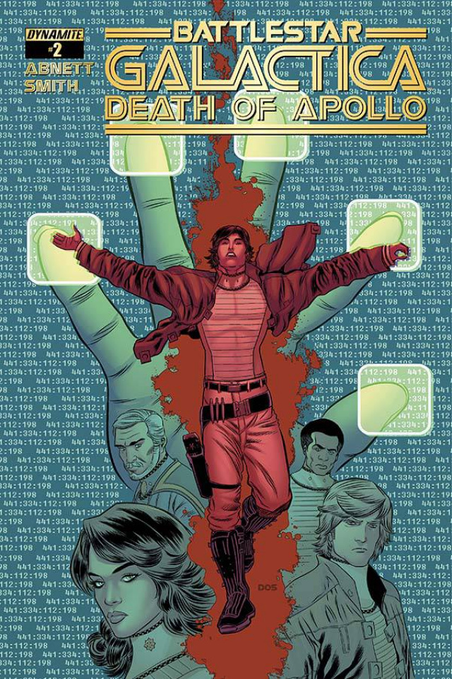 Battlestar Galactica: Death of Apollo #2 (Smith Cover)