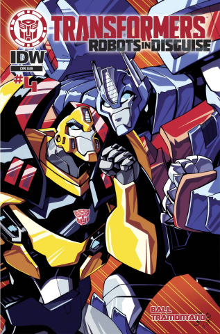 The Transformers: Robots in Disguise Animated #4 (Subscription Cover)