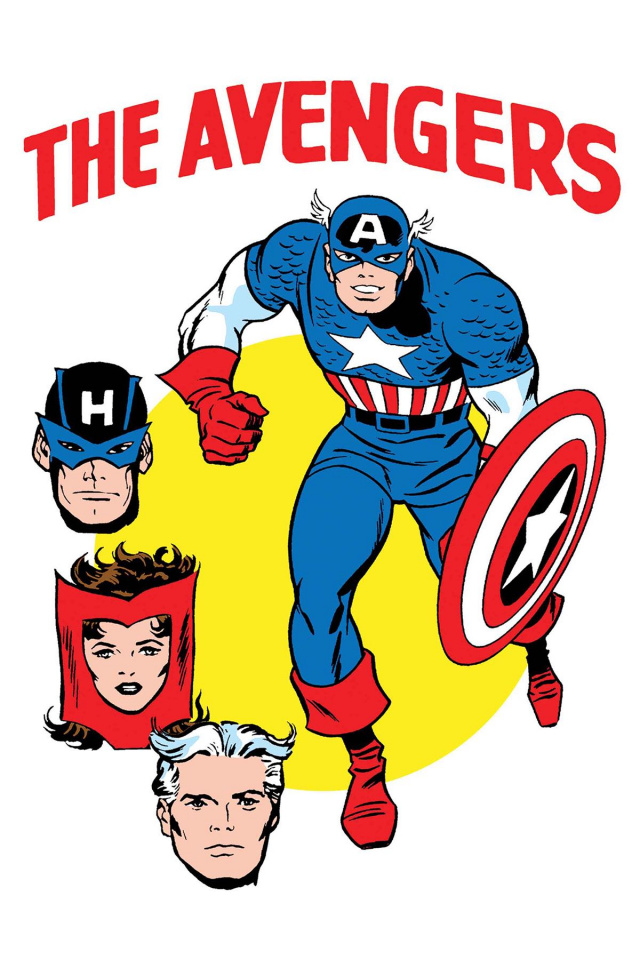 Avengers #672 (Kirby Heck '1965 T-Shirt Cover)