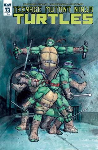 Teenage Mutant Ninja Turtles #73 (10 Copy Cover)