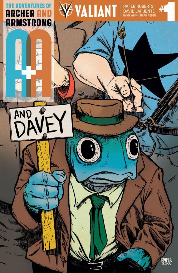 A&A #1 (Copy Roberts Cover)
