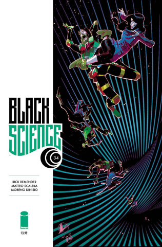 Black Science #34 (Scalera & Dinisio Cover)