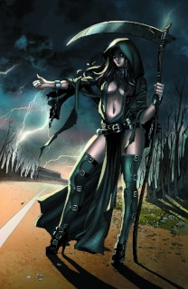 Grimm Fairy Tales: Grimm Tales of Terror #1 (Ortiz Cover)