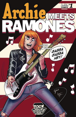 Archie Meets the Ramones (Local Comic Shop Day 2016)