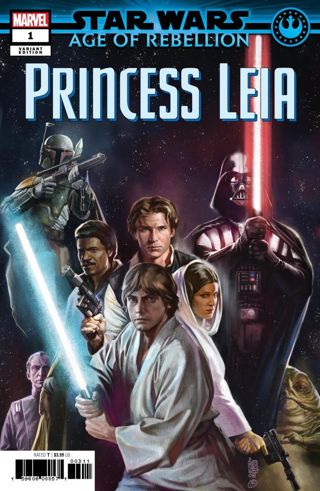 Star Wars: Age of Rebellion - Princess Leia #1 (Camuncoli Bonetti Promo Cover)