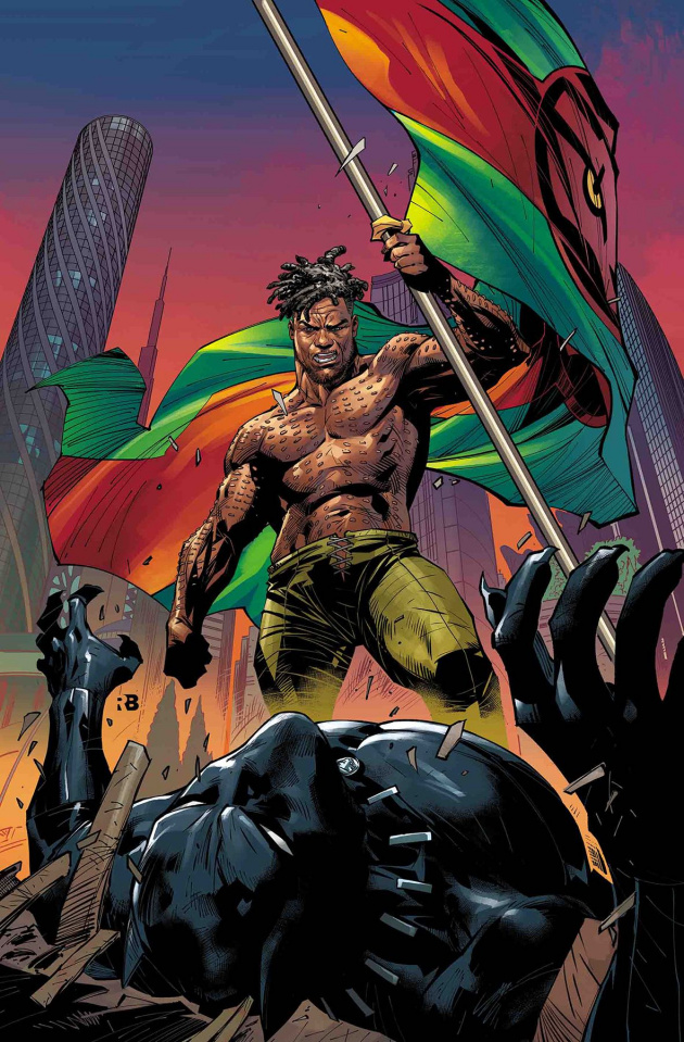 Black Panther #15 (Benjamin Cover)