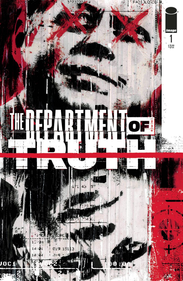 The Department of Truth #1 (Simmonds Cover)