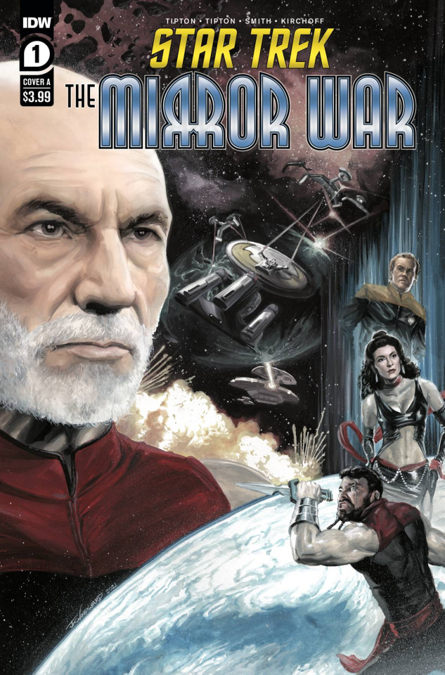 Star Trek: The Mirror War #1 (J.K. Woodward Cover)