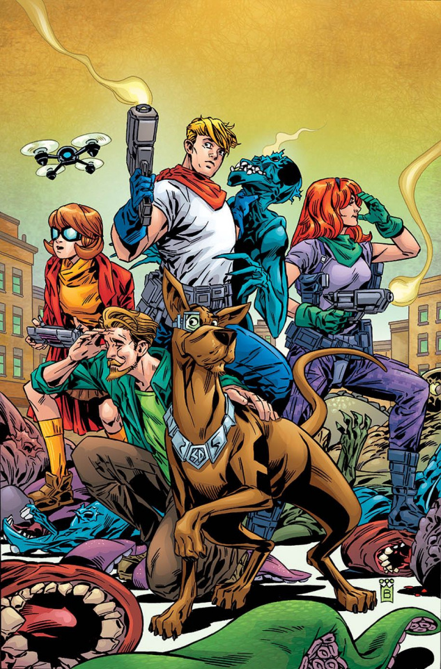 Scooby: Apocalypse #18 (Variant Cover)