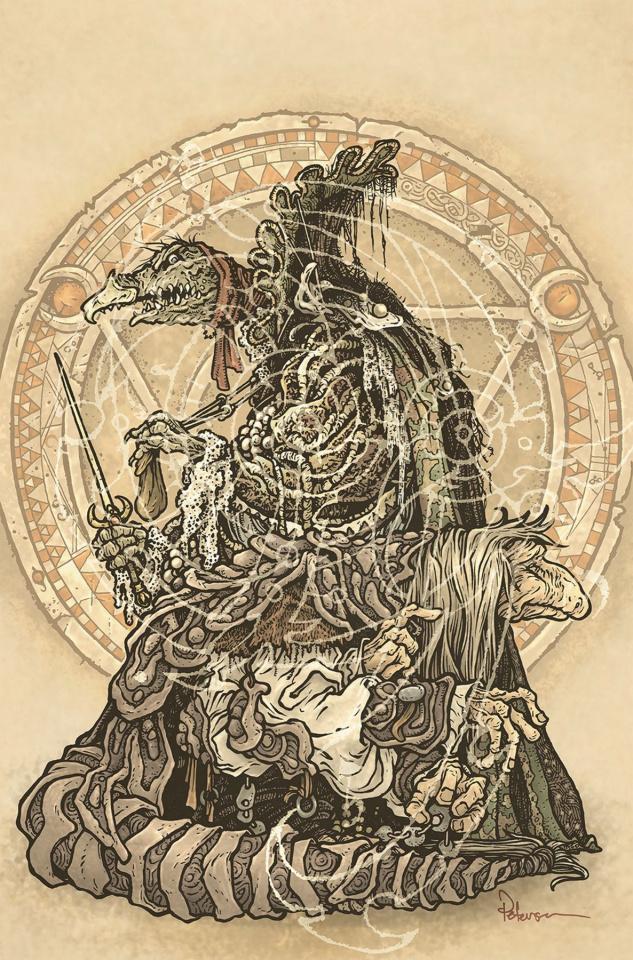Beneath the Dark Crystal #5 (Petersen Cover)