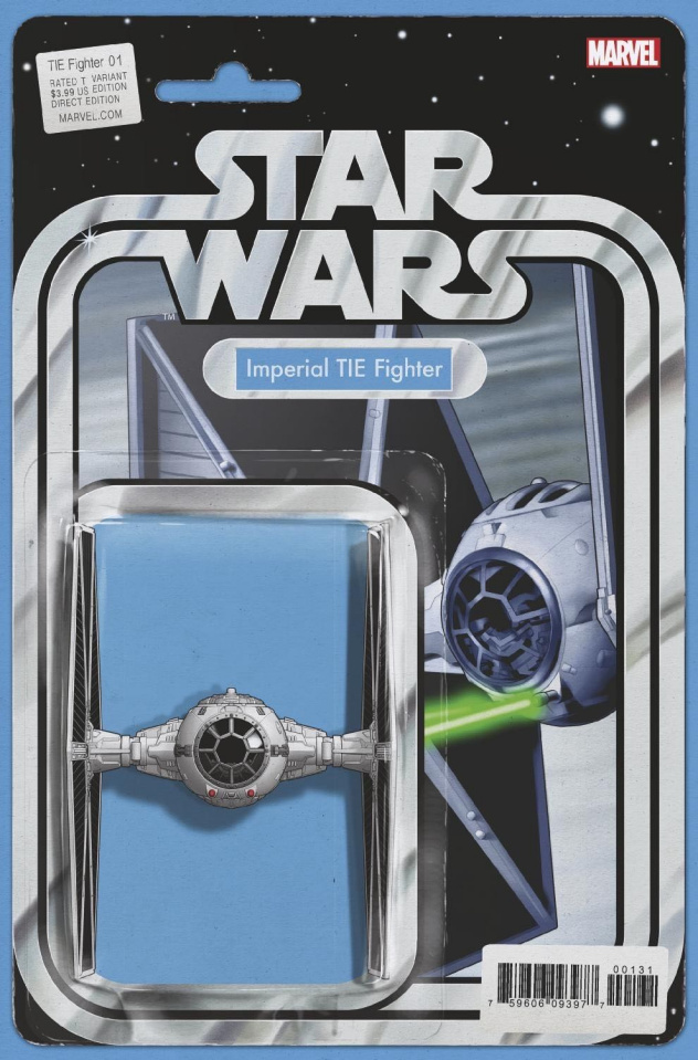 Star Wars: TIE Fighter #1 (Christopher Action Figure Cover)