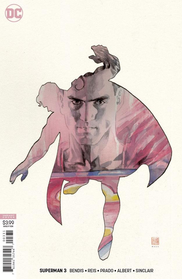 Superman #3 (Mack Cover)