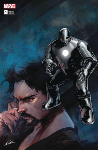 Tony Stark: Iron Man #1 (Original Armor Cover)