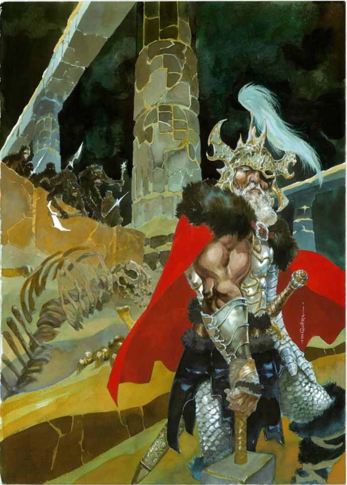 Thor: God of Thunder #25 (Guera Cover)