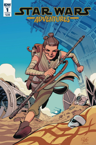 Star Wars Adventures #1 (Charretier Cover)