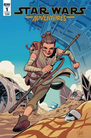 Star Wars Adventures #1 (Charretier Cover)