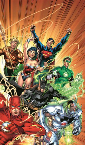 Justice League: The New 52 Vol. 1 (Omnibus)