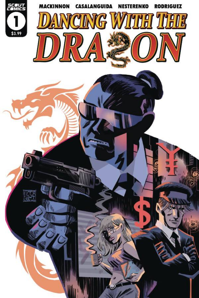 Dancing with the Dragon #1 (10 Copy Santos Cover)