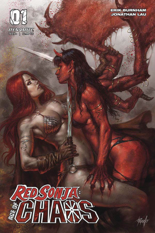 Red Sonja: Age of Chaos #1 (Parrillo Cover)