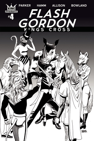 Flash Gordon: Kings Cross #4 (10 Copy Hamm Cover)