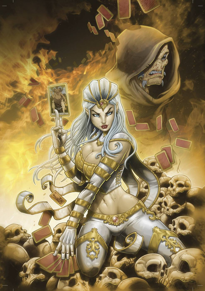 Grimm Fairy Tales: Wonderland #33 (El Tabanas Cover)
