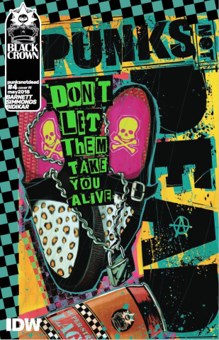 Punk's Not Dead #4 (10 Copy Cover)