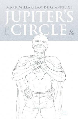 Jupiter's Circle #6 (Quitely B&W Cover)