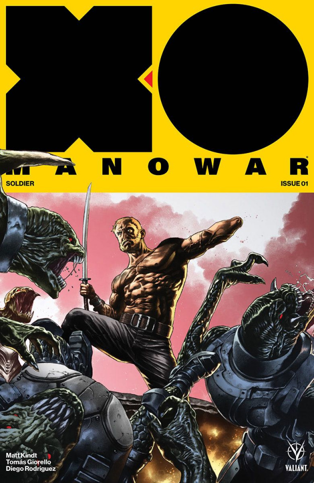 X-O Manowar #1 (20 Copy Interlock Suayan Cover)