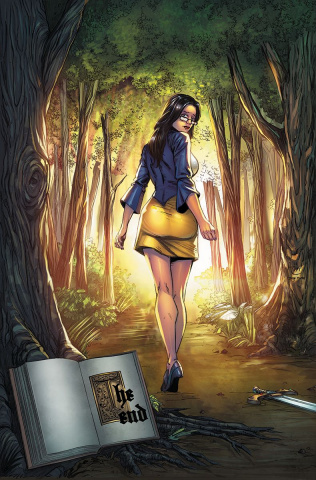 Grimm Fairy Tales #125 (Spay Cover)