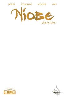 Niobe: She is Life #1 (Blank Sketch Cover)