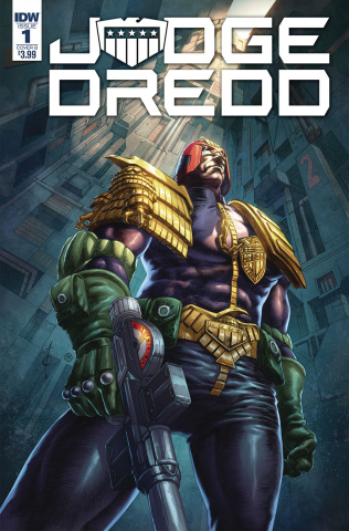 Judge Dredd: Under Siege #1 (Quah Cover)