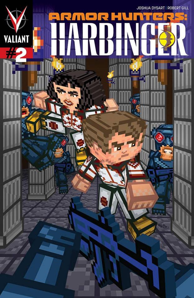 Armor Hunters: Harbinger #2 (Valiantcraft Cover)
