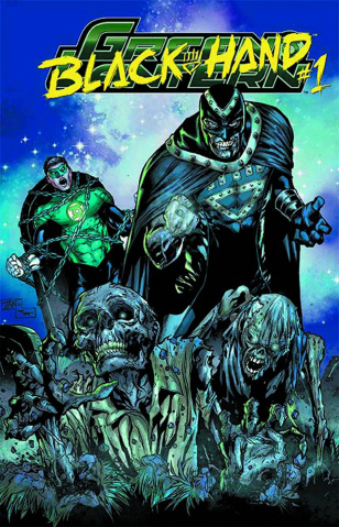 Green Lantern #23.3: Black Hand Standard Cover