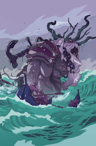 The Storyteller: Giants #1 (15 Copy Kerschl Cover)