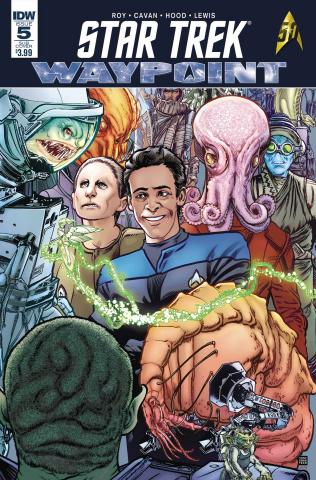 Star Trek: Waypoint #5 (Subscription Cover)