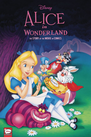 Alice In Wonderland: The Story of the Movie in Comics