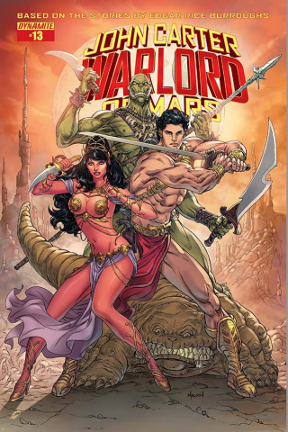 John Carter: Warlord of Mars #13 (Malsuni Cover)