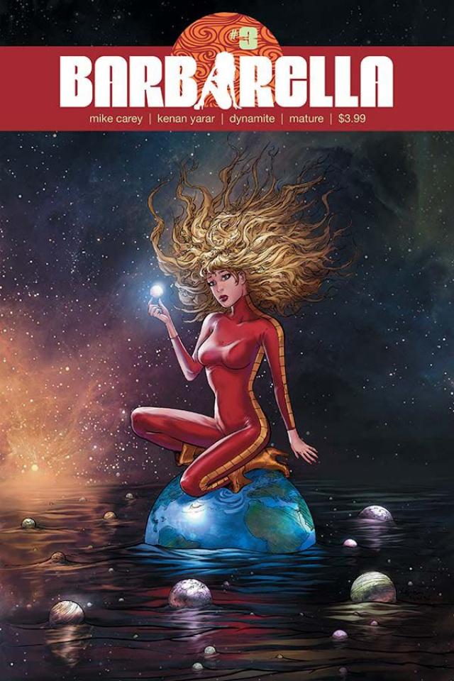 Barbarella #3 (Yarar Subscription Cover)