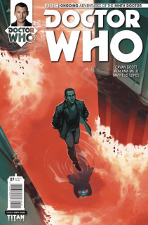 Doctor Who: New Adventures with the Ninth Doctor #7 (Glass Cover)