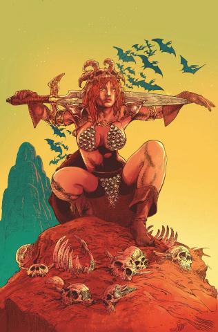 Red Sonja #24 (15 Copy Castro Virgin Cover)