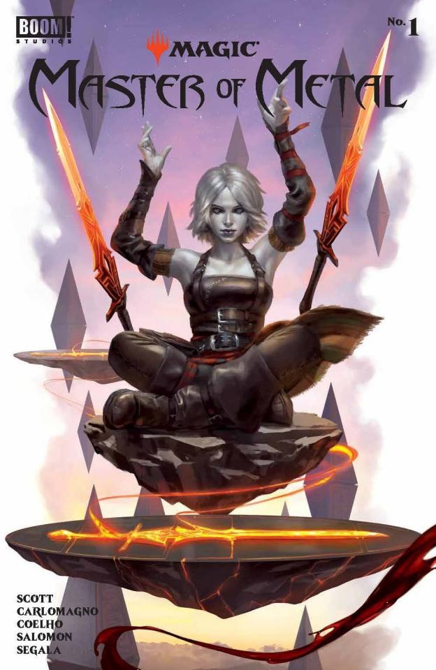 Magic: Master of Metal #1 (Mercado Connecting Cover)