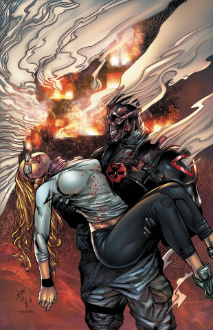Death Force #4 (Hill Cover)